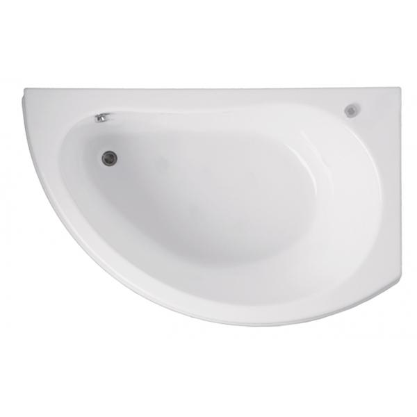 Акриловая ванна Vagnerplast Corona правая 160x80x42 см