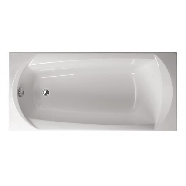 Акриловая ванна Vagnerplast Ebony 160x75x42 см