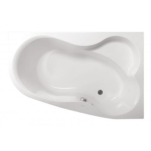 Акриловая ванна Vagnerplast Melite правая 160x105x48