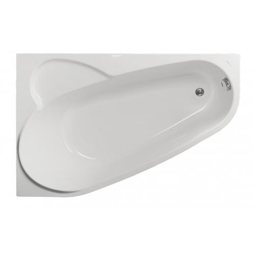 Акриловая ванна Vagnerplast Selena левая 160x105x43