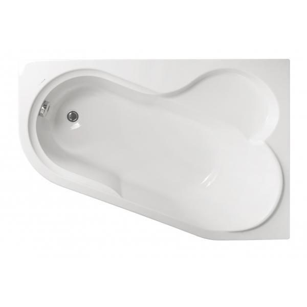 Акриловая ванна Vagnerplast Selena правая 147x100x43 см