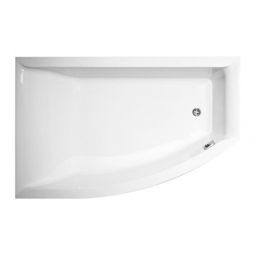 Акриловая ванна Vagnerplast Veronela левая 160x105x45