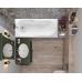Акриловая ванна Vagnerplast Corvet 170x80x45 см