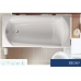 Акриловая ванна Vagnerplast Ebony 170x75x42 см