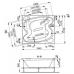 Акриловая ванна Vagnerplast Helios 194x170x520 см