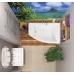 Акриловая ванна Vagnerplast Veronela правая 160x105x45 см