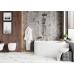 Акриловая ванна Vagnerplast Selena левая 147x100x43 см