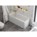 Акриловая ванна Vagnerplast Veronela 150x70x55 см