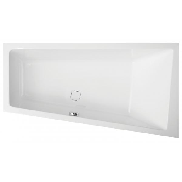 Акриловая ванна Vagnerplast Cavallo правая 160x90x45 см
