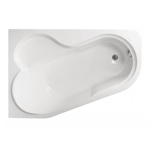 Акриловая ванна Vagnerplast Selena левая 147x100x43