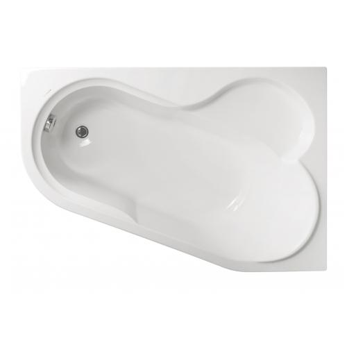 Акриловая ванна Vagnerplast Selena правая 147x100x43