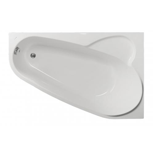 Акриловая ванна Vagnerplast Selena правая 160x105x43